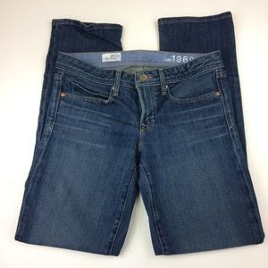 GAP Real Straight Blue Jeans